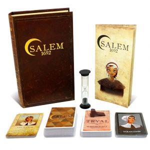 Asmodee Salem 1692 El Arte del Engaño Juego de Mesa