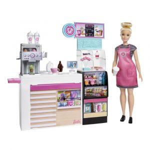 Barbie Careers Muñeca y Cafetería