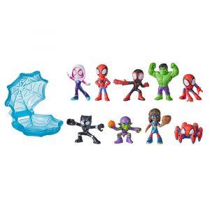 Marvel Spidey and His Amazing Friends Mini amigos Arácnidos - 1 Juguete Sorpresa por Empaque