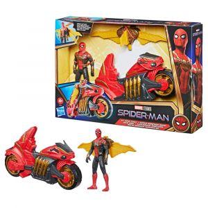 Marvel Spider-Man Deluxe Supermoto Arácnida