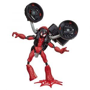 Marvel Bend and Flex - Hombre Araña Flex Rider - Figura y Motocicleta 2 en 1
