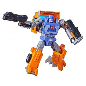 Transformers Generations War for Cybertron Kingdom Figura WFC-K16 Huffer Clase Lujo
