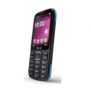 "Celular Zoey Ii  Gsm Dual-Sim, Pantalla 1.8"", Camara Vga, Memoria Interna 32 Mb Blu  - Azul/Negro"