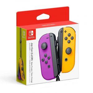 Nintendo Joy-Con (L/R) - Morado / Naranja