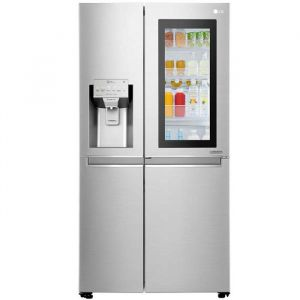 Refrigerador Lg | 22 Pies Cúbicos | InstaView Door-In-Door | Side By Side | Hygiene Fresh| Compresor Lineal Inverter | Acero Nobleza | Smart Thinq | Vip Service