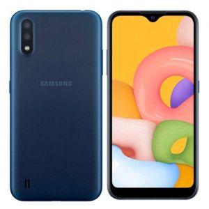 "Samsung Galaxy A01 | Android 10 | Octa-Core | 2Gb Ram | 16Gb | Fhd | Pantalla 5.7"" | Batería 3,000Mah - Azul"