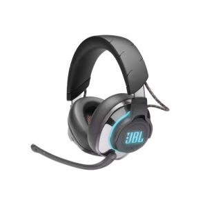 JBL Quantum 800  On Ear  Bluetooth HiRes Audio  RGB Lighting 2 4 GHz Digital Wireless  3 5mmQuantumsurround 9 1 DTS HP X 2 0 Active Noise Cance