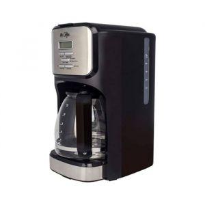 Mr. Coffe Cafetera Programable 12 Tazas Color Negro Y Plateado