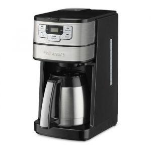 Cuisinart Cafetera 10 Tazas Termica Automatica Programable Con Molinillo Incorporado Acero Inox