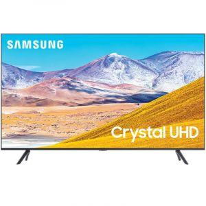 "85"" Tu8000 Crystal Uhd 4K Smart Tv Samsung | Dvb-T | Bluetooth | One Remote - Negro"