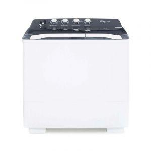 Lavadora Semiautomática Hisense 20 Kg   Blanca
