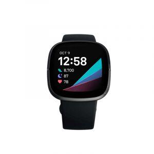 Fitbit (Fb512Bkbk) | Sense Smartwatch | Carbon Graphite