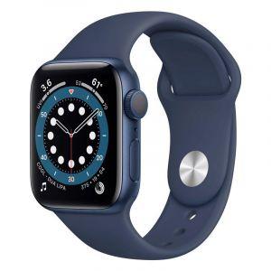 Apple Watch s6 gps 40mm blue Aluminum Case With Deep Navy Sport Band