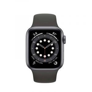Apple Watch | S6 Gps  | 40Mm  | Aluminum Case With Black Sport Band |Gris Espacial
