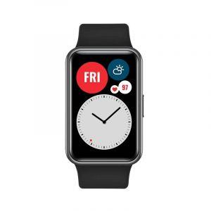 Huawei Watch Fit 1 64 Bat 10 Dias 12 Entrenador Con Animacion Resi Agua 5Atm Monitor Spo2 Estres Ritmo Cardiado Freq Cardiaca 24 7 96 Modo De Entre Negro