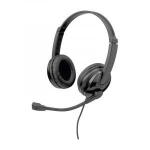 Slide Audifonos Headset W Split Audio And Mic W/Adapter Negro