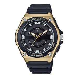 Reloj Analógico Hombre Casio MWC 100H 9A  Negro