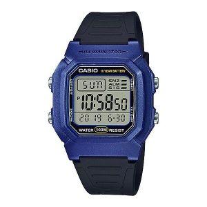 Reloj Digital Hombre Casio W 800HM 2A  Azul con Negro