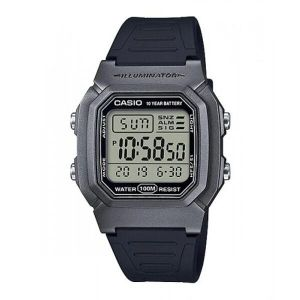 Reloj Digital Hombre Casio W 800HM 7A  Negro