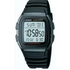 Reloj Digital Hombre Casio W 96H 1B  Negro