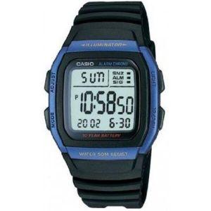 Reloj Digital Hombre Casio W 96H 2A  Negro