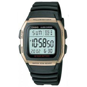 Reloj Digital Hombre Casio W 96H 9A  Negro