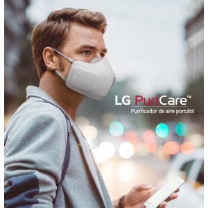 LG Purificador De Aire Facial PURICARE™ AP300AWFA | VENTILADOR DUAL INVERTER | FILTRO HEPA H13