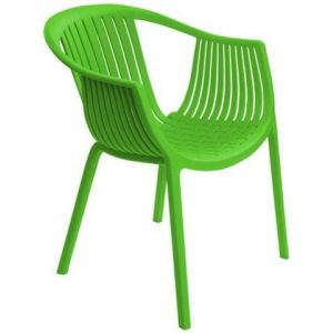 Silla Plástica Whole Ppara Verde Soho Furniture P1636 0007