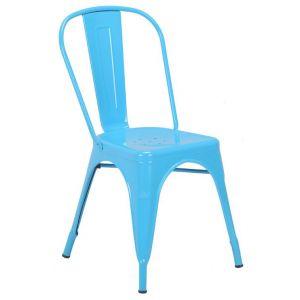 Taburete Con Respaldar Azul Soho Furniture P1796 0004