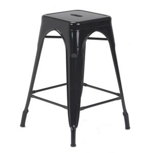 Taburete Negro Soho Furniture P1796 0025