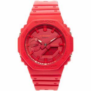 Reloj Casio G-Shock GA-2100-4A rojo