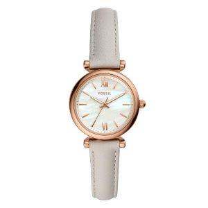 Reloj Analógico Mujer Fossil Jacqueline ES4529  Blanco