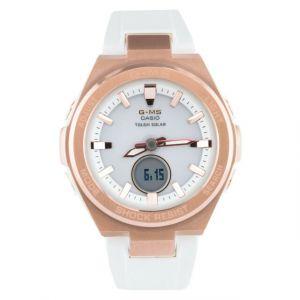 Reloj Casio G-Shock MSG-S200G-7A blanco