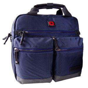 Maletin Para Laptop Swissbrand Melbourne Briefcase Azul