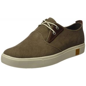 Zapatos Amherst Plain Toe Canvas Oxford Timberland Beige