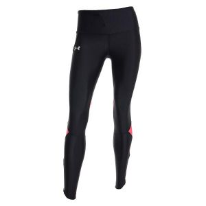 Lycra Deportiva Mujer Under Armour Fly Fast Tight Negro con Rosa