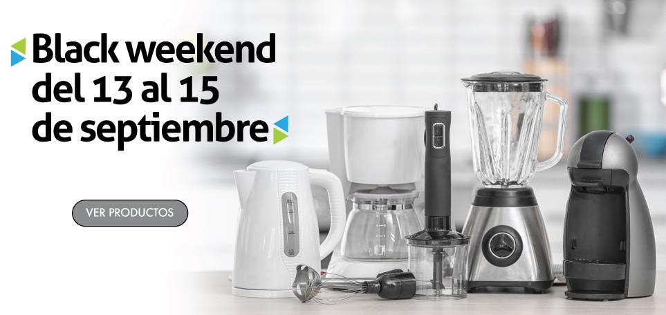 Electrodomesticos Black Weekend 2019